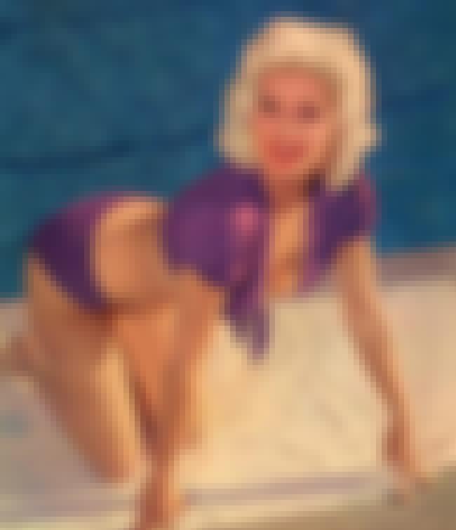 Jayne Mansfield in Purple Swim... is listed (or ranked) 4 on the list The 21 Hottest Jayne Mansfield Photos