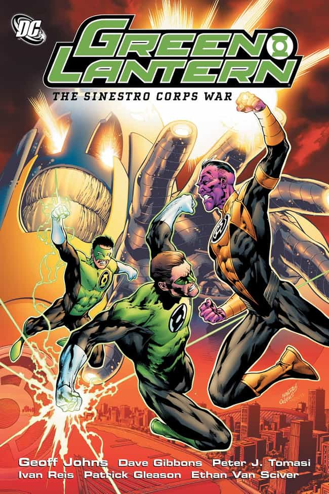 Sinestro Corps War is listed (or ranked) 1 on the list The Greatest Green Lantern Stories Ever Told