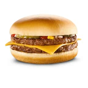 McDonald's McDouble is listed (or ranked) 24 on the list The Best Fast Food Burgers