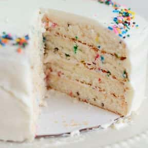 Funfetti Cake is listed (or ranked) 14 on the list Every Single Type of Cake, Ranked by Deliciousness