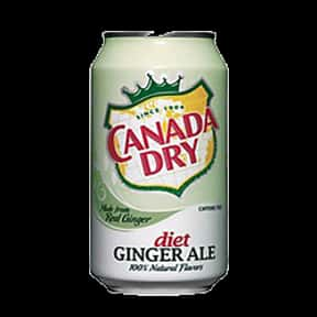 Diet Canada Dry Ginger Ale is listed (or ranked) 14 on the list The Best Diet Sodas