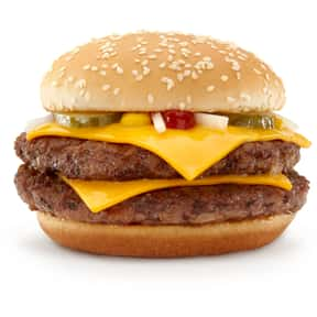 McDonald's Double Quarter Poun is listed (or ranked) 19 on the list The Best Fast Food Burgers