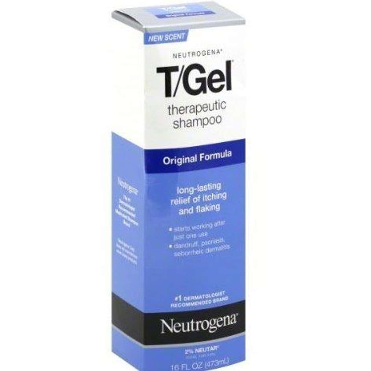 Neutrogena T/Gel Original Form is listed (or ranked) 1 on the list The Best Dandruff Shampoo