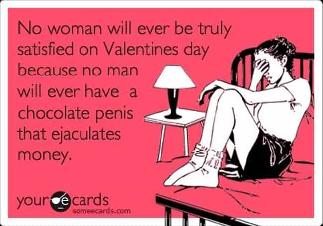 Someecards Sexist Valent... is listed (or ranked) 3 on the list The 100 Greatest Internet Valentines of All Time