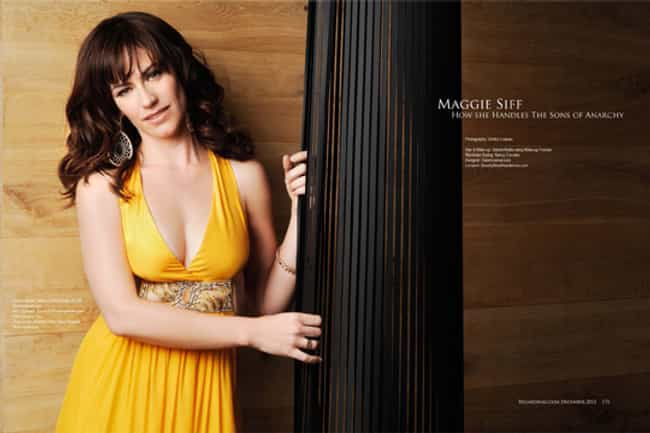 Maggie Siff in Yellow Dress is listed (or ranked) 3 on the list The Most Stunning Maggie Siff Photos