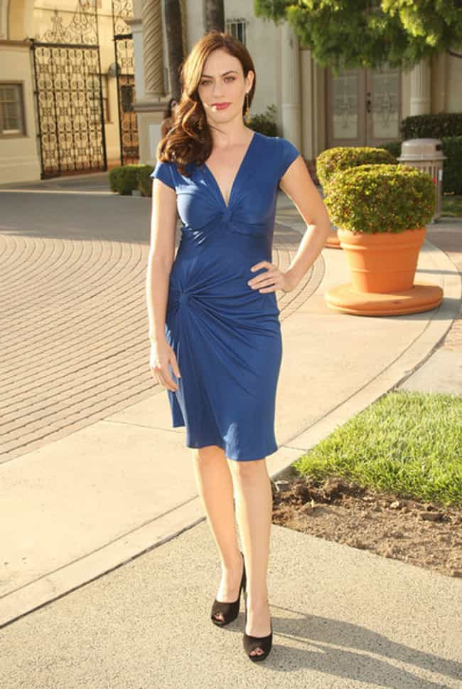 Maggie Siff in V Front Blue Al... is listed (or ranked) 2 on the list The Most Stunning Maggie Siff Photos