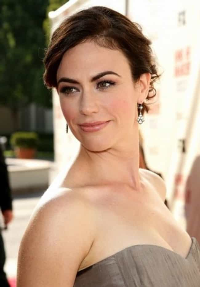 Maggie Siff At A Premiere is listed (or ranked) 1 on the list The Most Stunning Maggie Siff Photos