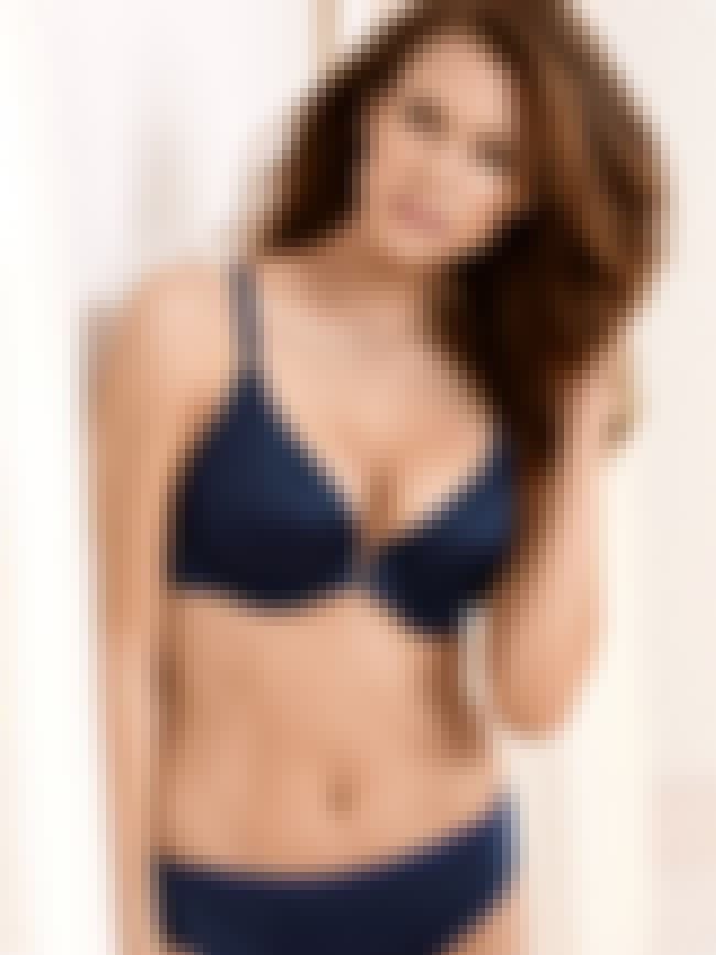 Kim Cloutier Blue Satin Bikini is listed (or ranked) 1 on the list Hottest Kim Cloutier Photos