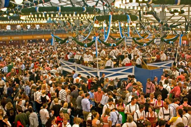 Oktoberfest, Munich is listed (or ranked) 2 on the list The Best Annual Party Events to Attend Worldwide