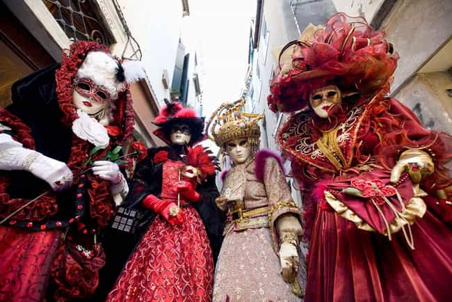 Carnival of Venice is listed (or ranked) 3 on the list The Best Annual Party Events to Attend Worldwide