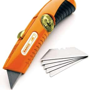 Utility Knife is listed (or ranked) 6 on the list The Best Household Tools