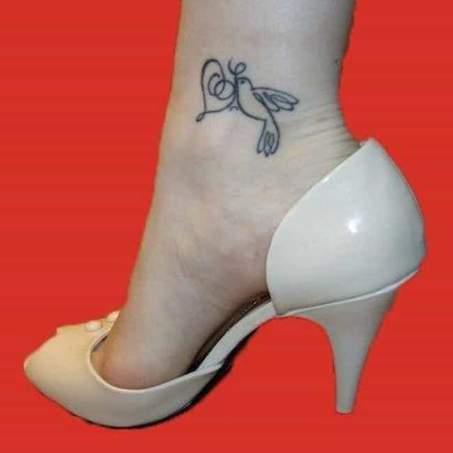 Inner Ankle is listed (or ranked) 4 on the list The Best Place to Get a Tattoo