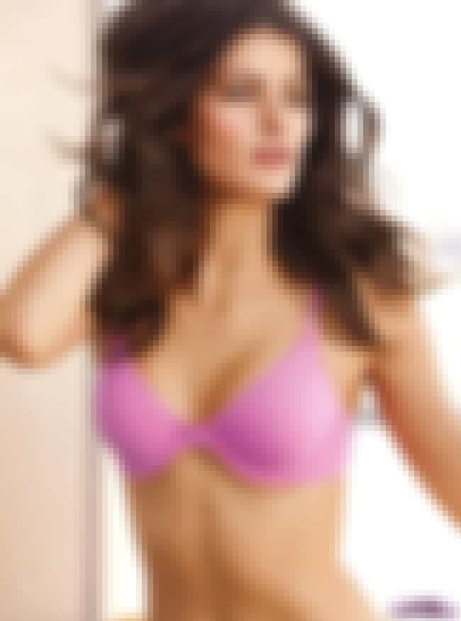 Isabeli Fontana in Pink Brassi... is listed (or ranked) 1 on the list Hottest Isabeli Fontana Photos