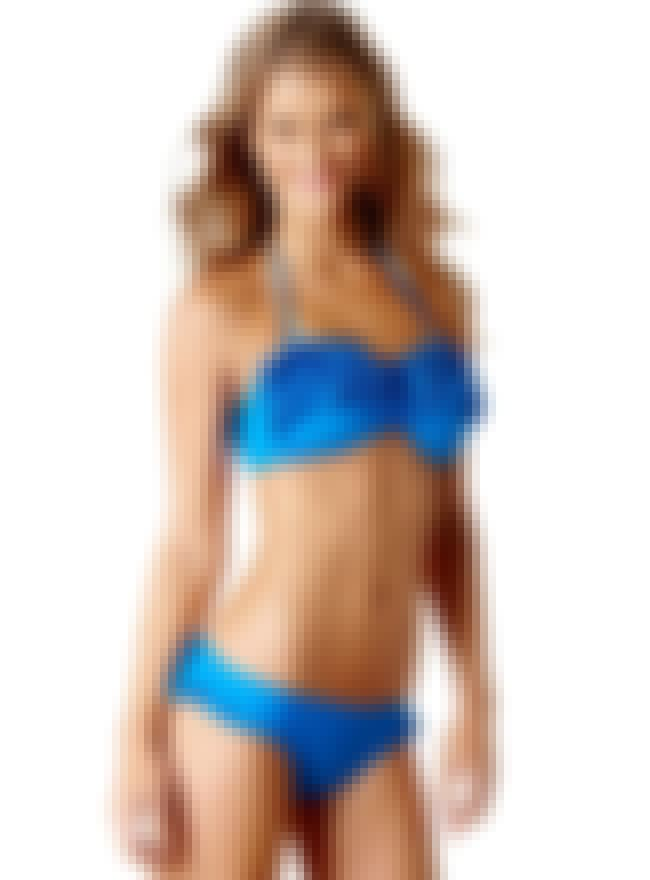 Nina Agdal in Blue Bikini with... is listed (or ranked) 1 on the list Hottest Nina Agdal Photos