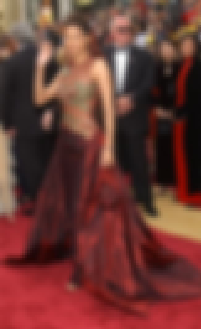 Halle Berry Wearing Elie Saab ... is listed (or ranked) 2 on the list Oscar Fashion: Vote for the Most Iconic Looks