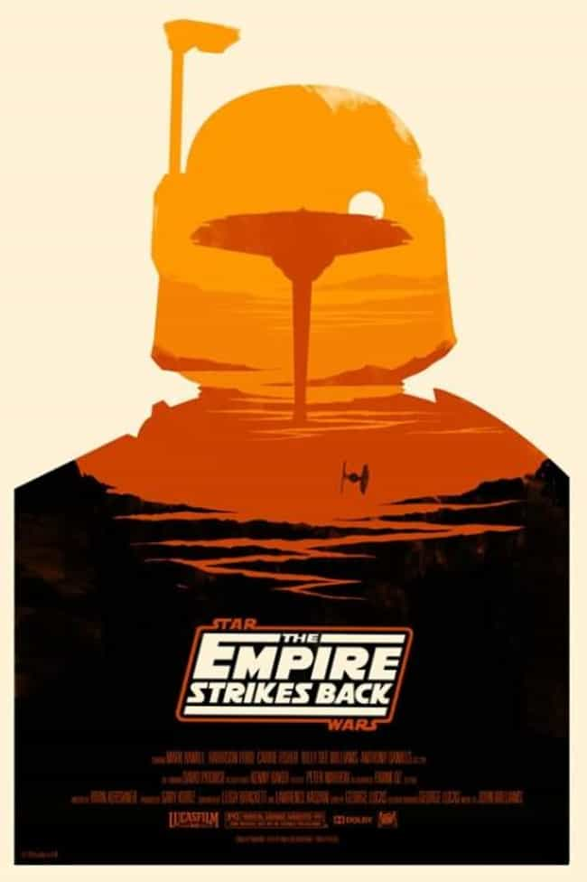 Star Wars: The Empire Strikes ... is listed (or ranked) 3 on the list The Best Mondo Movie Posters (From The Alamo Drafthouse)