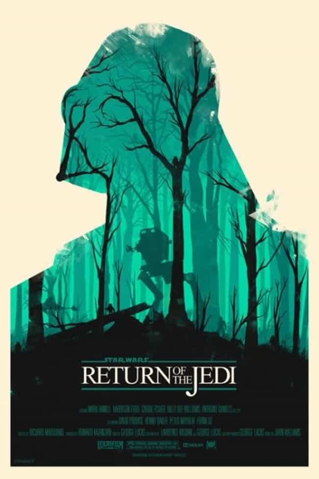Star Wars: Return Of The... is listed (or ranked) 1 on the list The Best Mondo Movie Posters (From The Alamo Drafthouse)