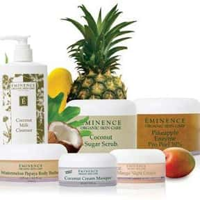 Eminence is listed (or ranked) 6 on the list The Best Natural Skin Care Brands