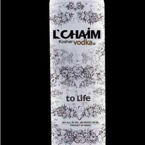 L'CHAIM is listed (or ranked) 20 on the list The Best Vodka Brands