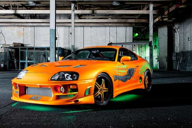 1995 Toyota Supra Turbo MkIV is listed (or ranked) 3 on the list The Coolest Cars from the Fast and the Furious Movies