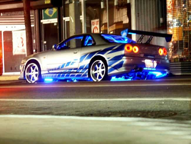 1999 Nissan R34 Skyline GT-R is listed (or ranked) 1 on the list The Coolest Cars from the Fast and the Furious Movies