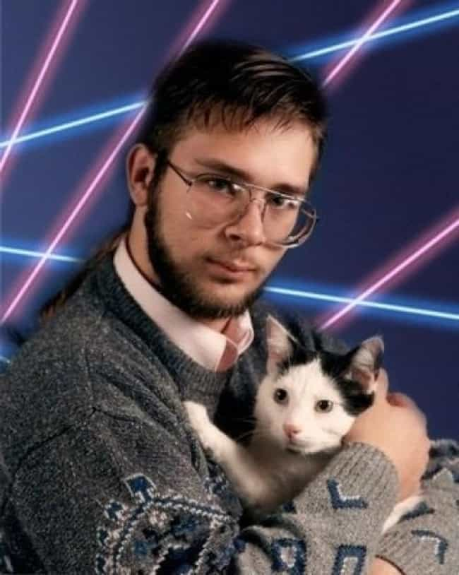 Man With Rat Tail and Cat is listed (or ranked) 3 on the list The Absolute Worst Pictures of Men Holding Cats