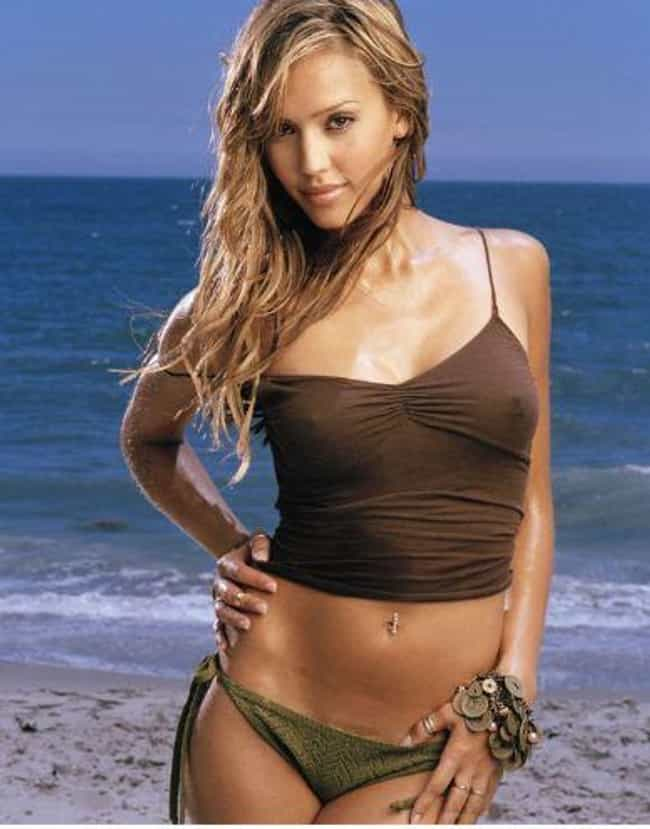 Jessica Alba is listed (or ranked) 1 on the list Hottest Bikini Babes