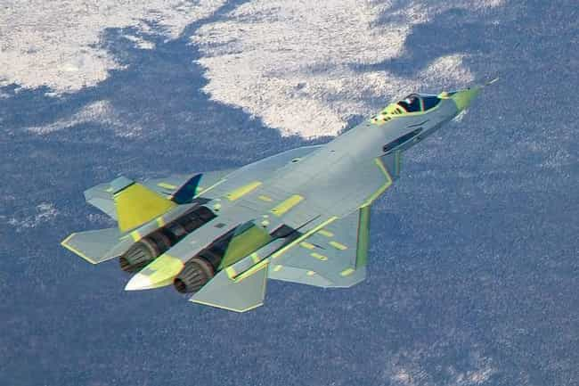 PAK-FA is listed (or ranked) 7 on the list The Best Military Fighter Jets of the 21st Century.
