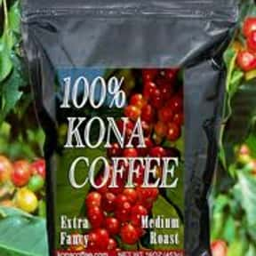 Kona Coffee is listed (or ranked) 10 on the list The Best Packaged Coffee Brands