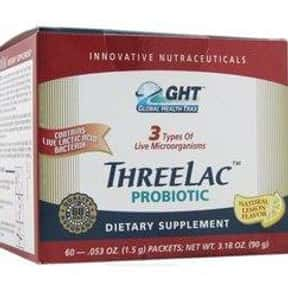 Threelac is listed (or ranked) 23 on the list The Best Probiotics Brands