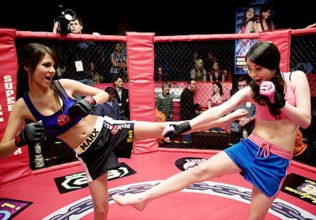 Miranda Cosgrove In Sports Bra