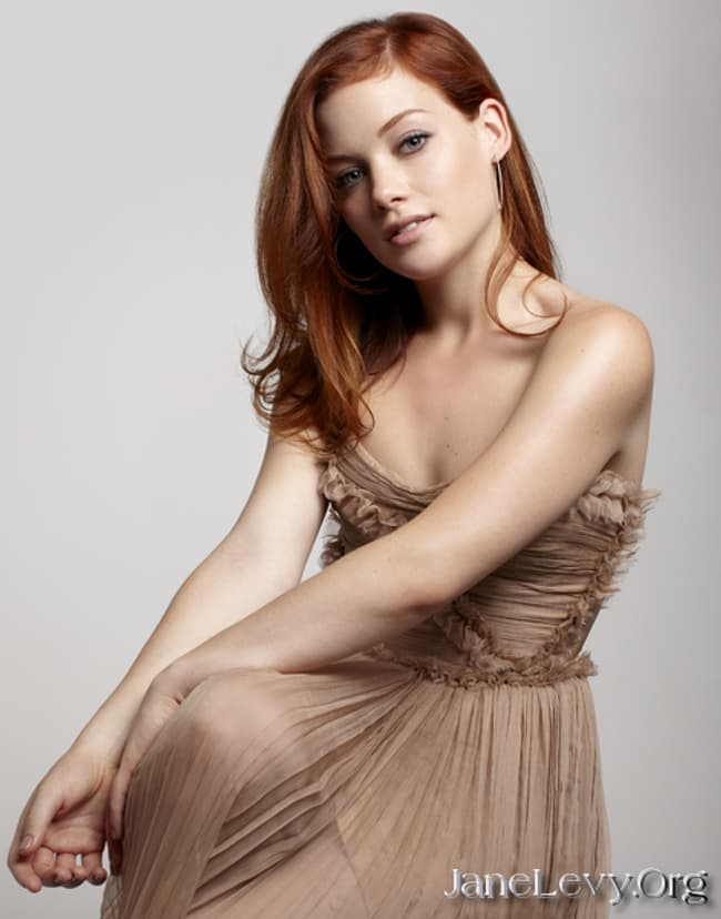 Jane Levy In Brown Pleated Dre Is Listed Or Ranked 1