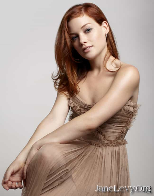 Jane Levy in Brown Pleated Dre... is listed (or ranked) 1 on the list The Most Stunning Jane Levy Photos