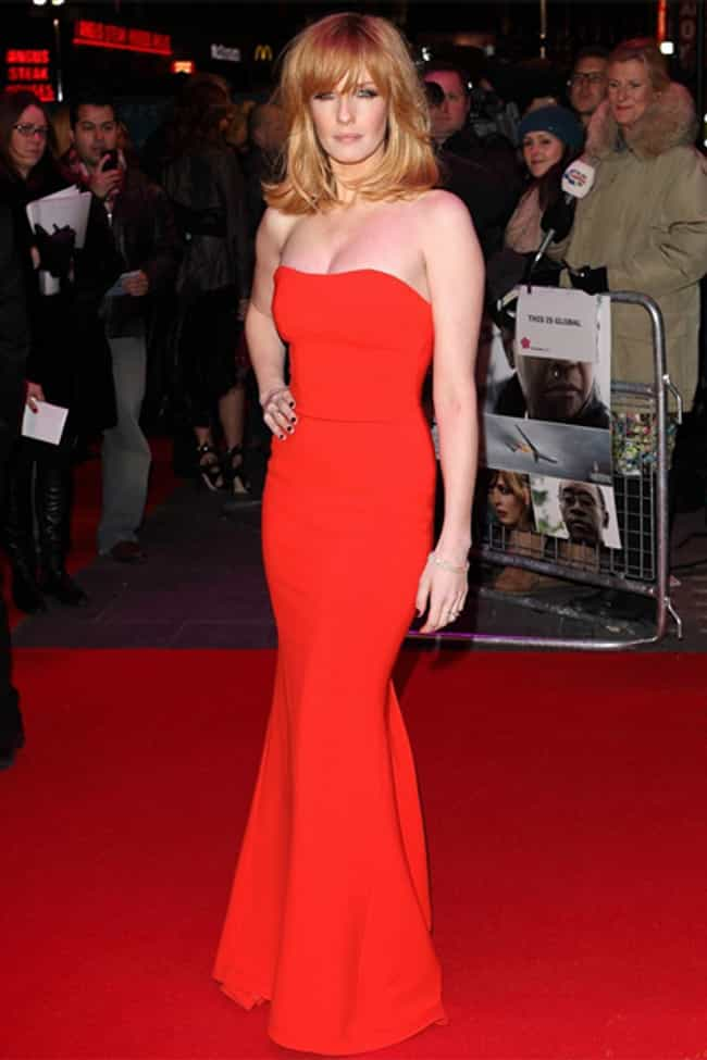 Kelly Reilly in Red Gown is listed (or ranked) 2 on the list The Most Stunning Kelly Reilly Photos