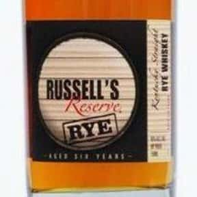 Russell's Reserve 6 Year Rye W is listed (or ranked) 15 on the list The Best Rye Whiskey