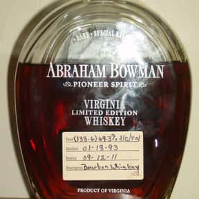 Abraham Bowman Rye Whiskey is listed (or ranked) 23 on the list The Best Rye Whiskey