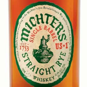 Michter's US*1 Single Barrel R is listed (or ranked) 7 on the list The Best Rye Whiskey