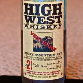High West Rocky Mountain Rye 2 is listed (or ranked) 16 on the list The Best Rye Whiskey