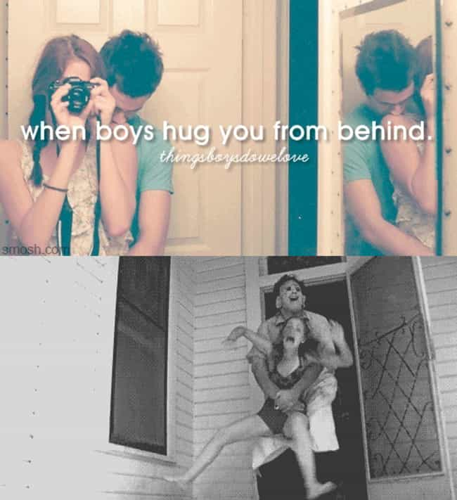 When Boys Hug You from B... is listed (or ranked) 1 on the list The 39 Funniest