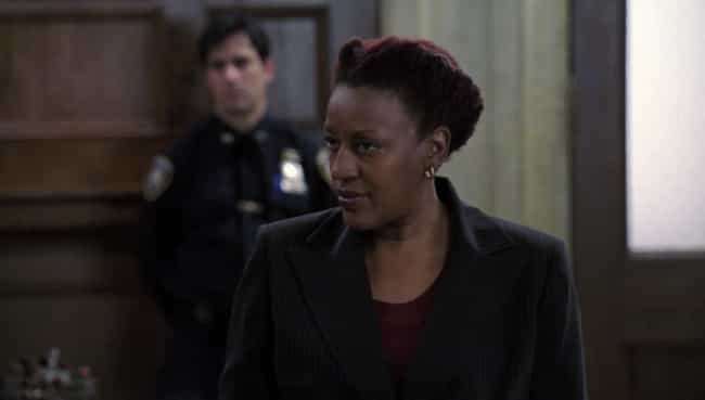 Carolyn Maddox (CCH Pounder) is listed (or ranked) 3 on the list The Most Despicable Defense Attorneys on 'L&O: SVU'