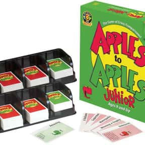 Apples to Apples Jr. is listed (or ranked) 16 on the list The Best Board Games for Kids 7-12