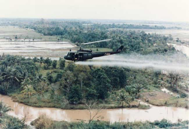 Agent Orange is listed (or ranked) 3 on the list Inventions That Were The Worst For the World