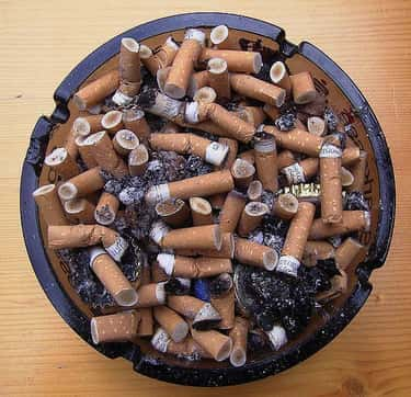 Cigarettes is listed (or ranked) 2 on the list Inventions That Were The Worst For the World