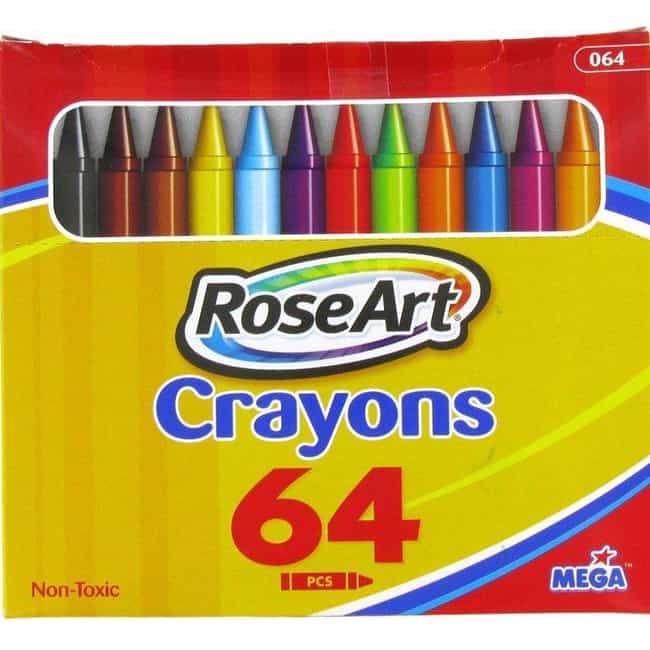 RoseArt Crayons: The Worst Cra... is listed (or ranked) 1 on the list 23 Toys That Prove Your Parents Didn't Love You