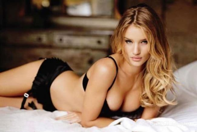 Rosie Huntington Whiteley In A Cabin Down By The River