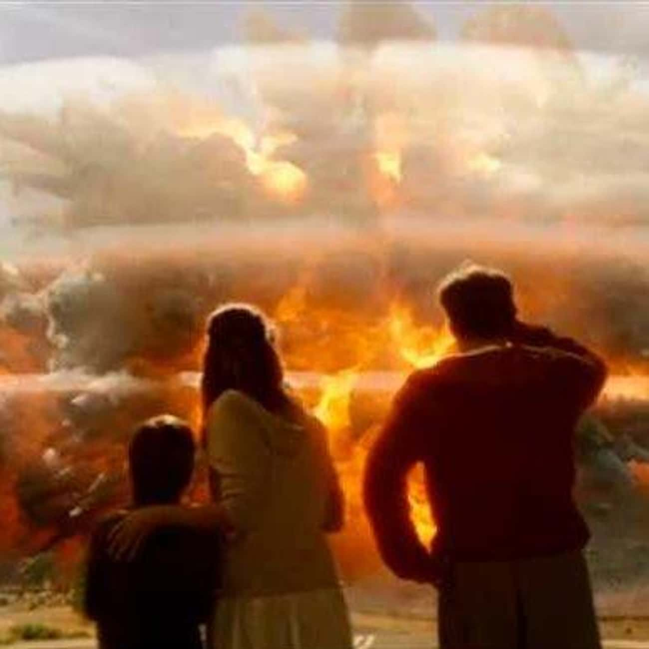You Can Survive the Blast of a is listed (or ranked) 4 on the list The Most Idiotic Bad-Science Moments in Disaster Movies