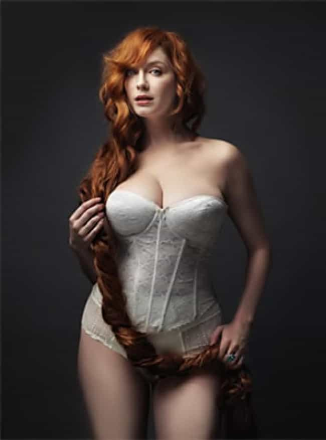 Christina Hendricks And A Hair... is listed (or ranked) 3 on the list 38 Sexiest Christina Hendricks Pictures