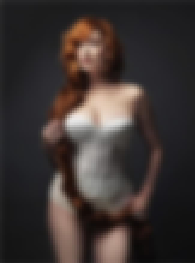 Christina Hendricks And A Hair... is listed (or ranked) 4 on the list 38 Sexiest Christina Hendricks Pictures