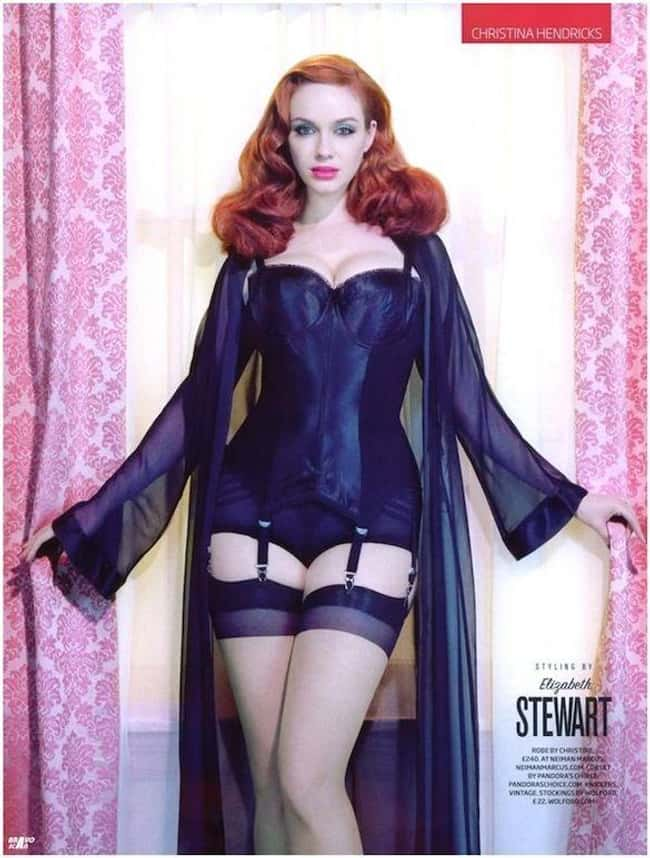 Christina Hendricks Magically is listed (or ranked) 14 on the list 38 Sexiest Christina Hendricks Pictures