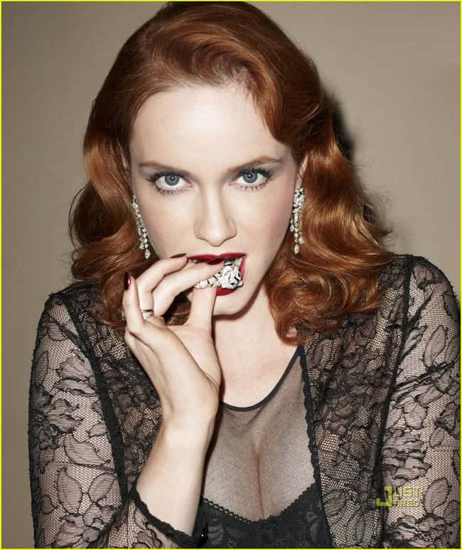 Christina Hendricks Has Expens is listed (or ranked) 35 on the list 38 Sexiest Christina Hendricks Pictures